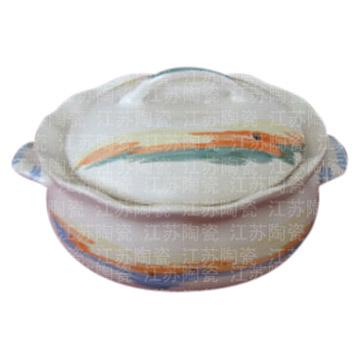 High Heat-Resisting Ceramic Pot (Высокие жаропрочных керамических горшка)