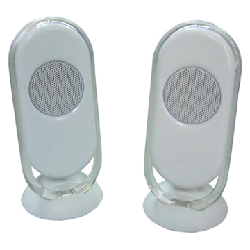 2.0 Super MP3 Speakers with USB Port (2,0 Super MP3-Lautsprecher mit USB-Port)