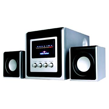 2.1 Multimedia Speaker with USB Port (2,1 мультимедиа акустическая система с USB-портом)