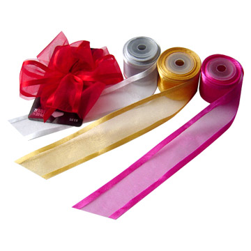 Sheer Ribbon, Organza Ribbon (Шир ленты, органза Лента)