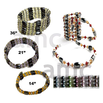Magnetic Jewelry, Magnetic Hematite Bracelets, Necklaces - N&P Imports