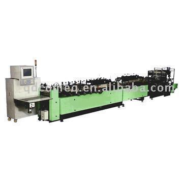 Gusset Plastic Bag Making Machine (Gusset Plastic Bag Making Machine)