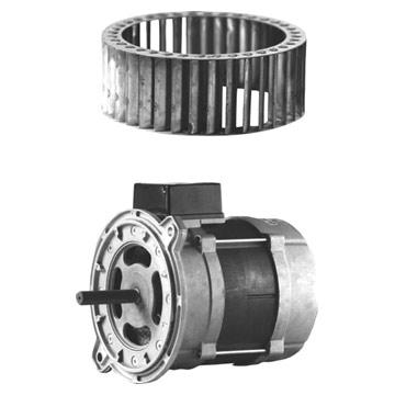 Fan Wheel and Motor (Колесом вентилятора и мотор)