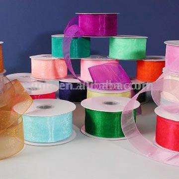 100% Nylon Sheer Ribbon or Organza