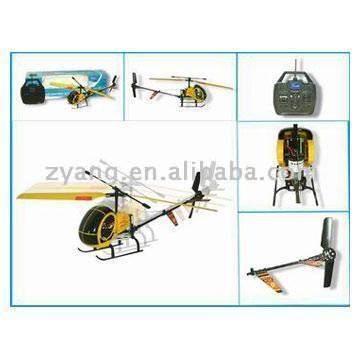 R/C Dragonfly Helicopter (R / C Dragonfly Вертолеты)