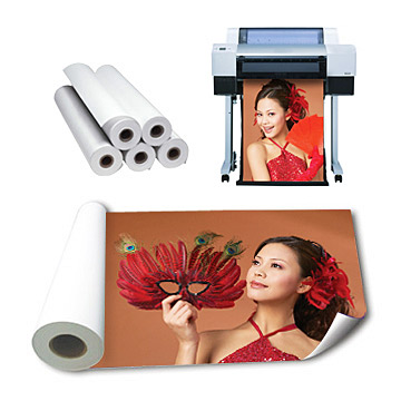 Microporous RC Glossy/Silky Waterproof Photo Paper Direct From Paper Mill (Микропористые RC Глянцевая / Silky Водонепроницаемый фотобумага непосредственно от бумажного комбината)