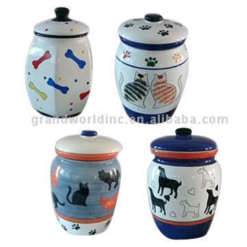 Dog Cake Pots