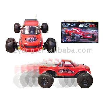 R/C 1:10 4WD Nitro Cars (R / C 1:10 4WD Nitro автомобили)