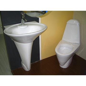 Toilet & Pedestal