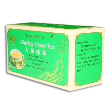Ginseng Green Tea ( Ginseng Green Tea)