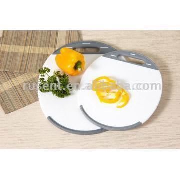 Cutting Board with TPR Handle
