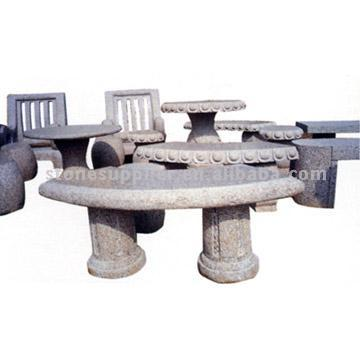 Stone Tables and Stools