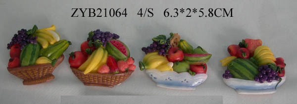 Polyresin Fruit Magnet