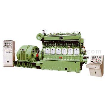 Heavy Fuel Generator Set (Heavy Fuel Generator Set)