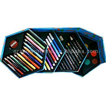 Hexagonal 52pc Artist Set (Шестигранная 52pc Исполнитель Установить)