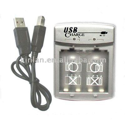 Зарядка батареек от usb