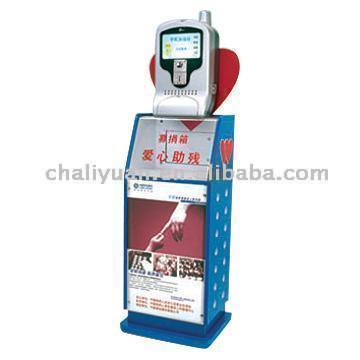 Chaliyuan Mobile Phone Charging Station Giving You Three Golden Keys (Chaliyuan Handy-Ladestation Giving You Three Golden Keys)
