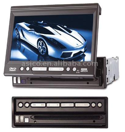 "7"" TFT Car DVD Player with TV Turner (7 ""TFT автомобильный DVD-плеер с TV Turner)"