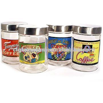 Glass Coffee Jars