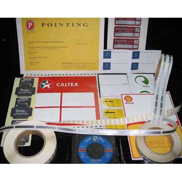 Industrial Product Labels (Промышленные этикетках)