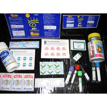 Pharmaceutical Labels (Фармацевтические Этикетки)