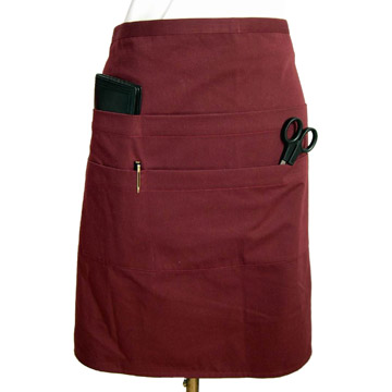 Apron (With 2 Row Pockets)