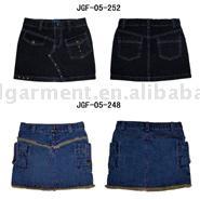 Jeans Skirt (Джинсовая юбка)