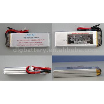 High Rate Discharge Polymer Li-Ion Battery (Высокие разряда полимерный Li-Ion аккумулятор)