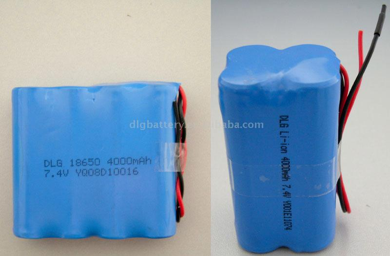 Li-Ion Battery Pack (Литий-ионный аккумулятор)
