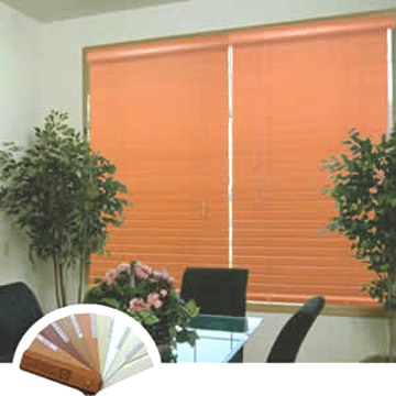 Horizontal Faux Wood Blind