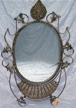 Cane Mirror & Willow Mirror