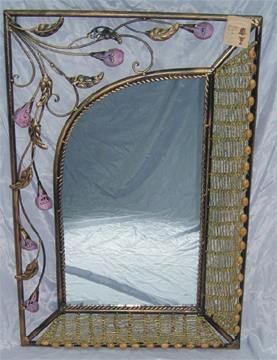 Cane Mirror & Willow Mirror