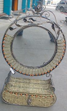 Cane Mirror & Willowe Mirror