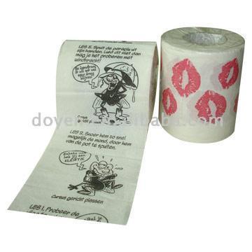 Printed Toilet Paper Rolls (Печатный рулоны туалетной бумаги)