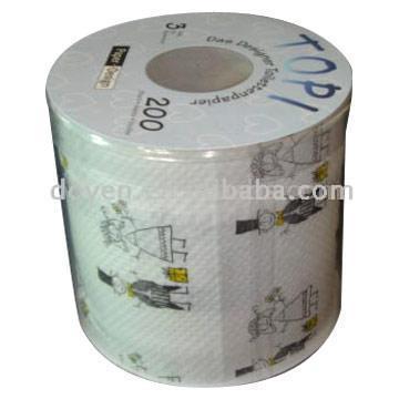 Printed Tissue Paper Roll (Печатные ткани для рулонной бумаги)