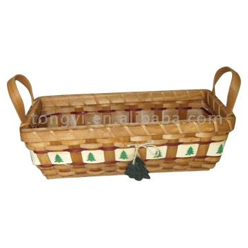 Christmas Tree Basket