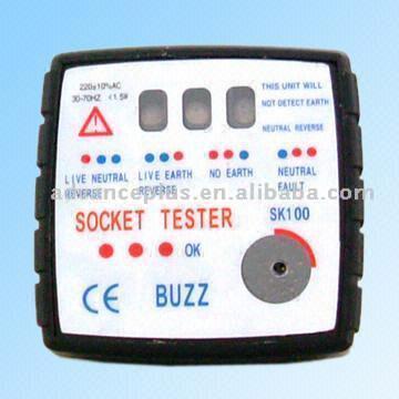 SK100 Audible Socket Tester (SK100 Звуковое Socket Tester)