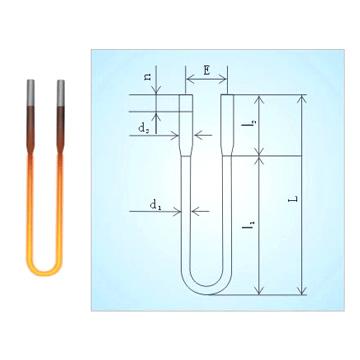 MoSi2 Heating Element (MoSi2 нагревательный элемент)