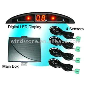 Mini LED Display Parking Sensor (Мини светодиодный дисплей Датчик парковки)