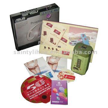 Paper Box and Paper Bag (Вставка Бумага и бумажные сумки)