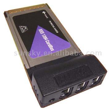 Pcmcia Card Bus 1394 Card 2/3 Port; USB 2.0 2 Port
