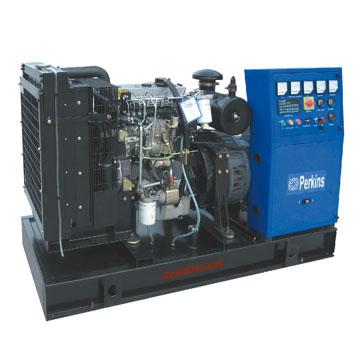 Diesel Generator Set (With Fuel Tank) (Diesel Generator Set (mit Kraftstofftank))