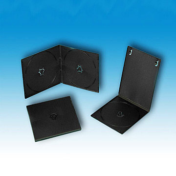 Square Black Single/Double DVD Case (Площадь Черного Single / Double DVD Case)