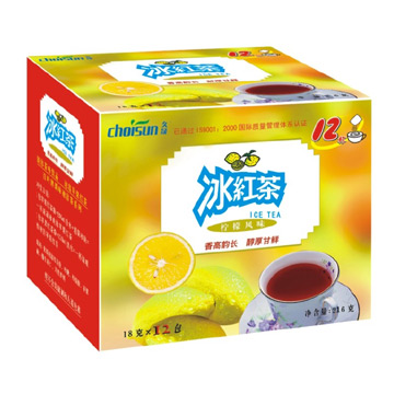 Ice Black Tea (Lemon Flavor) (Лед черный чай (лимон))