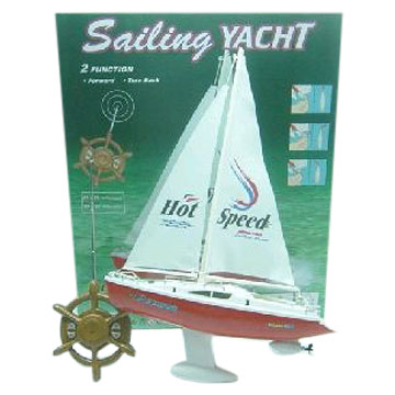 Two Channels R/C Sailing Boat (Два каналам R / C Парусная лодка)