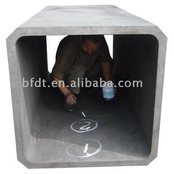 Graphite Adiabatic Chamber (Graphite adiabatique Chambre)