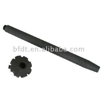 Graphite Rotor-Pole and Impeller (Графит Ротор-полюс и крыльчатки)