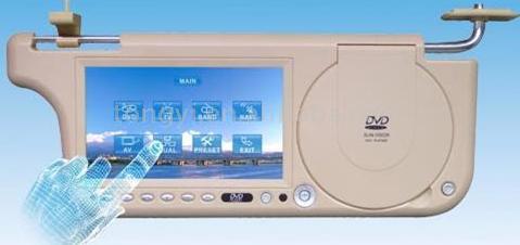 Auto Sun Visor DVD Player with Touch Screen (Авто ВС Visor DVD-плеер с сенсорным экраном)