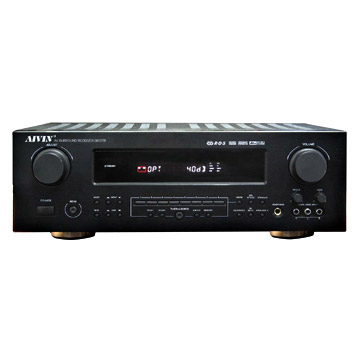 6.1 AV-Receiver with RDS (6.1 AV-ресивер с RDS)
