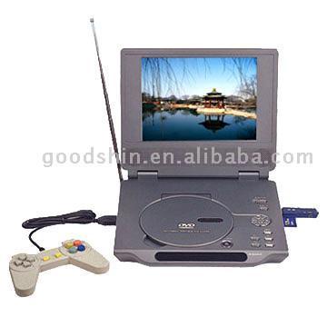 "7"" or 8"" Portable DVD Player with MP4 (DivX), TV, Game, Card Read (7 ""или 8"" Портативный DVD-плеер с MP4 (DivX), ТВ, игр, карты Читать)"